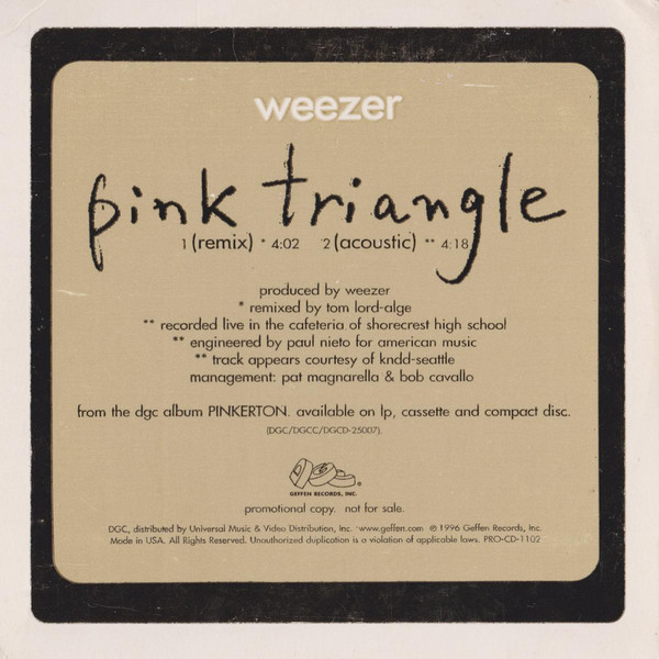 Pink Triangle cover